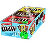 M&M'S Chocolate Candy Variety Pack of Mixed Singles 30.58-Ounce Box 18-Count