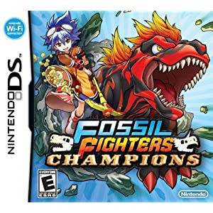 Fossil Fighters: Champions Video Game for Nintendo DS