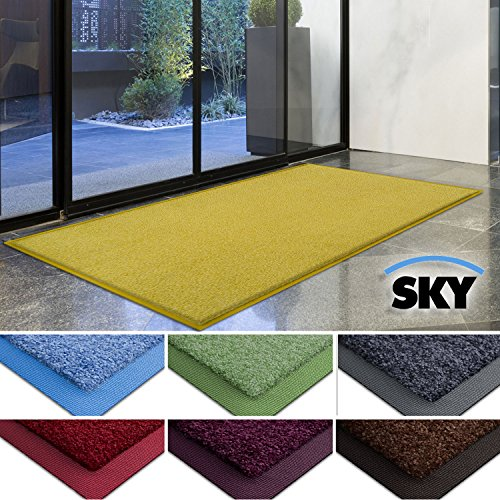 casa-purar-dirt-trapper-barrier-mat-with-matching-rubber-edge-yellow-85-x-150cm-non-slip-absorbent