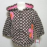 Carter's(カーターズ)フード付きナイロンベビージャケット12ヶ月(ドット・ブラウン) [Baby Product]