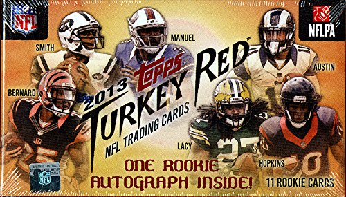 2013 Topps Turkey Red Football Factory Sealed Hobby Box