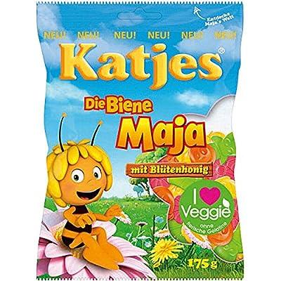 Katjes Die Biene Maja (Maya the Bee) Fruitgums - 175g