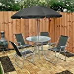 6 Piece Garden Furniture, Patio Set i...