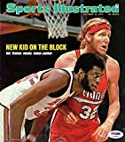 Bill Walton Autographed Signed Sports Illustrated Cover Trail Blazers S46887 - PSA/DNA Certified - Autographed NBA Magazines