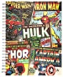 Marvel A5 Plus Retro Comic Wirebound Notebook