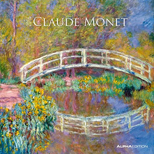 Alpha Edition 160126 Monet Calendario da Muro 2016 30 X 60 cm Aperto PDF