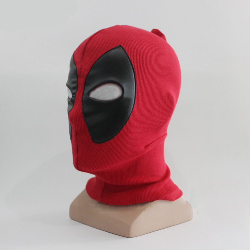Rulercosplay Deadpool Game Cosplay Mask, Belts and Sword Belt (Mask-A)