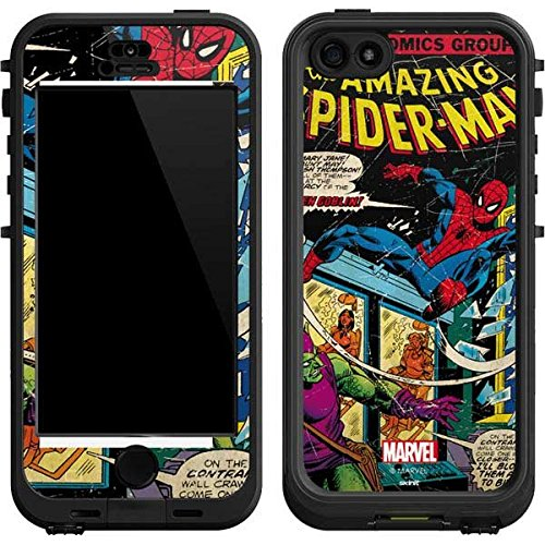 Marvel Comics Lifeproof Nuud iPhone 5&5s Skin - Marvel Comics Spiderman Vinyl Decal Skin For Your Lifeproof Nuud iPhone 5&5s (Iphone 5 Marvel Decal compare prices)