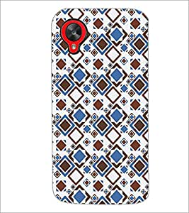 PrintDhaba Pattern D-5238 Back Case Cover for LG GOOGLE NEXUS 5 (Multi-Coloured)
