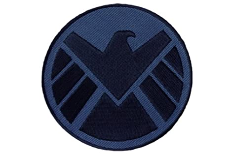 Black Shield Logo Avengers Logo Eagle Black Iron