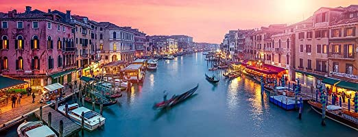 Grand Canal Venice Wallpaper Venice Grand Canal Panorama