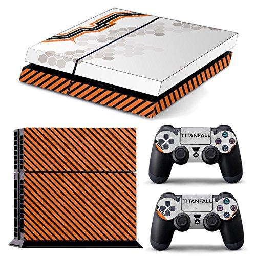 PS4 *TITANFALL* COMPLETO DEL CORPO Accessorio dell'involucro adesivi copertura della pelle Decal per PS4 Playstation 4