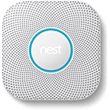Nest S3003LWES Nest Protect 2nd Gen Smoke + Carbon Monoxide Alarm, Wired
