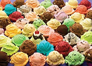 Cobble Hill Puzzle Company Ice Cream 1000 Piece Jigsaw Puzzle
