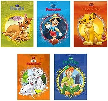 5-Pack Disney Hardcover Books