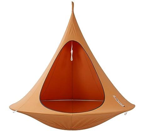Cacoon - Tienda colgante Tamaño grande - color Naranja