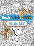 Seek, Sketch and Color -- Animals (Dover Coloring Books for Children)