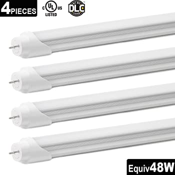 4-Pack Otronics T8 4' 22W 2290Lumens LED Tube Light