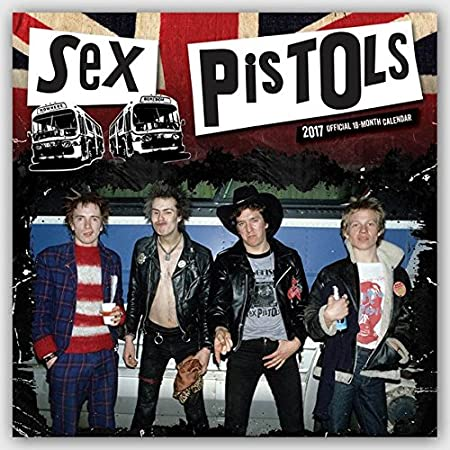Sex Pistols 2017 Calendar (Square Wall)