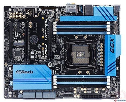 ASRock X99 Extreme6/3.1 Scheda Madre Intel 2011, Nero