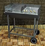 Kingfisher OUTBBQ Half Drum BBQ