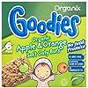 Organix Goodies 1+ Year Organic Apple and Orange Soft Oaty Bars 6 x 30 g (Pack of 6, Total 36 Bars)