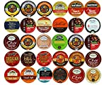 Holiday,Winter and Seasonal Flavors Coffee,Tea,Hot Cocoa and Cider Single Serve and K CUPS for Keurig Brewer from Perfect Samplers
