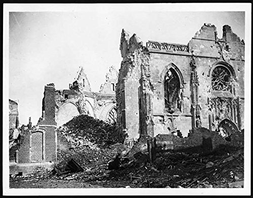 poster-ruins-of-the-church-in-peronne-after-huns-had-done-with-it-this-atmospheric-and-moving-photog