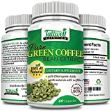 Pure Green Coffee Bean Extract - 800mg - 240 Capsules- Natural Metabolism Booster with GCA Antioxidants- Maximum Strength Weight Loss Supplement