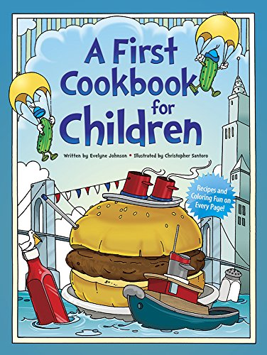 A First Cookbook For Children (Dover Children'S Activity Books) front-985772