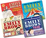 Emily Brown Collection - 4 Books RRP £23.96 (That Rabbit Belongs to Emily Brown; Emily Brown and the Thing; Emily Brown and the Elephant Emergency; Cheer Up Your Teddy Bear, Emily Brown) Cressida Cowell