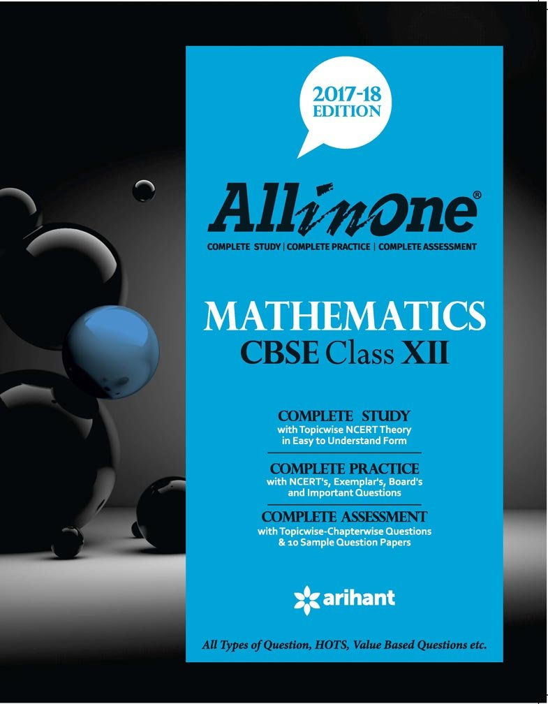 Poster design class 12 - All In One Mathematics Cbse Class 12th 2017 18 Edition