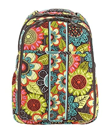 vera bradley backpack baby bag flower shower clothing. Black Bedroom Furniture Sets. Home Design Ideas