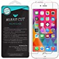iPhone 7 Plus Screen Protector, Klear Cut KlearGlass Ballistic Tempered Glass Screen Protector for iPhone 7 Plus HD Clear 9H Hardness Anti-Bubble Shield - Lifetime Warranty