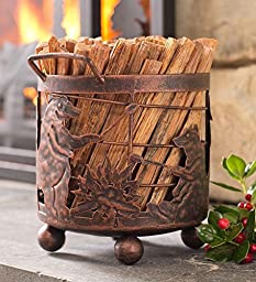 Bear Camp Fatwood Holder With 5 lbs. Fatwood