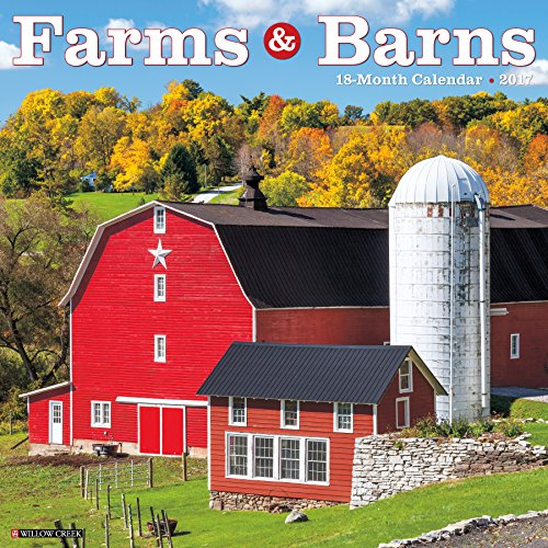 Farms & Barns 2017 Wall Calendar
