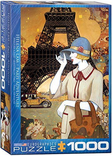EuroGraphics Paris Adventure by Helena Lam 1000 Piece Puzzle (1000 Piece Makeup compare prices)