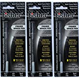 Fisher SPR4F Space Pen Ink Fine Point Refill, Black, 3 Pack