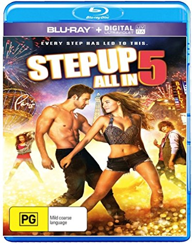 Step Up Movie Collection: Step Up / Step Up 2: The Streets / Step Up 3 / Step Up 4: Miami Heat / Step Up 5: All In [NON-USA Format, Region B [Blu-Ray] Import - Australia] (Miami Heat Blu Ray compare prices)