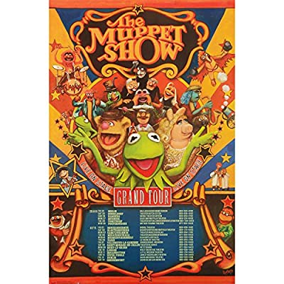 Trends Intl. Muppets Most Wanted Grand Tour Poster, 24-Inch by 36-Inch