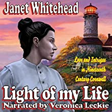 Light of My Life: Casanova Romance (       UNABRIDGED) by Janet Whitehead Narrated by Veronica Leckie
