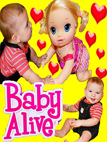 Baby IN LOVE ~ Baby Alive Go Bye Bye New Crawling Baby Alive Doll with Baby ELI CUTE Kids Video