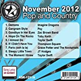 All Star Karaoke November 2012 Pop and Country Hits A (ASK-1211A)