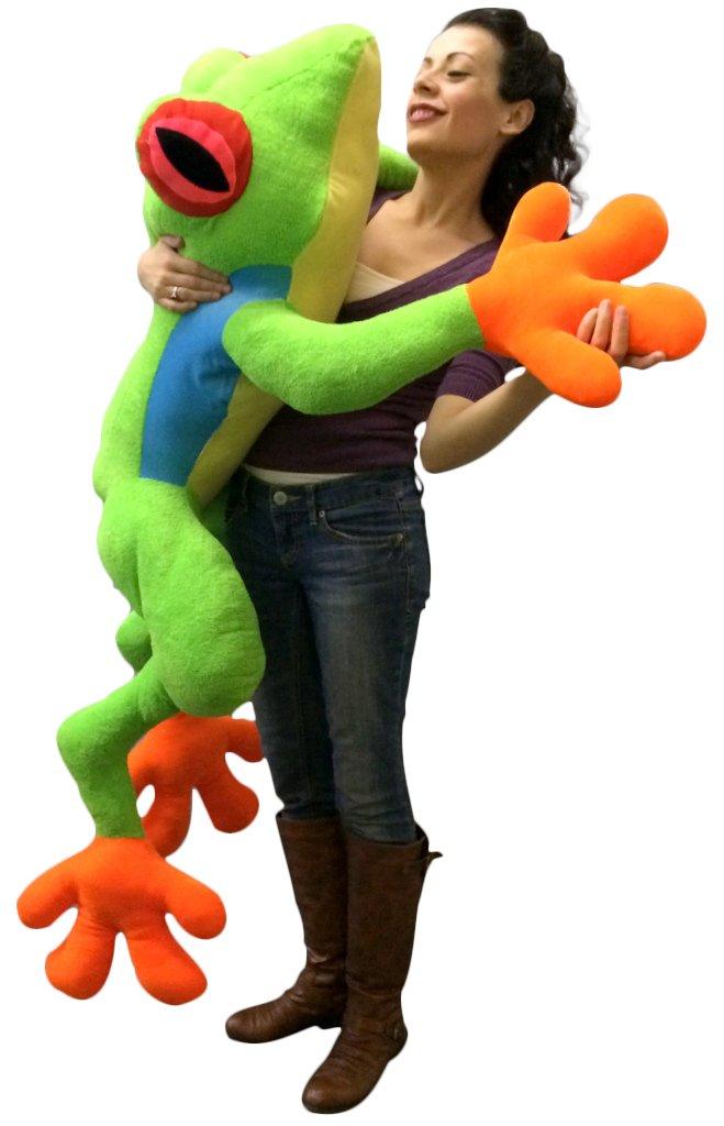 Giant Stuffed Realistic Frog