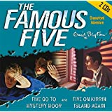 The Famous Five. Five Go to Mystery Moor / Five on on Kirrin Island. 2 CDs