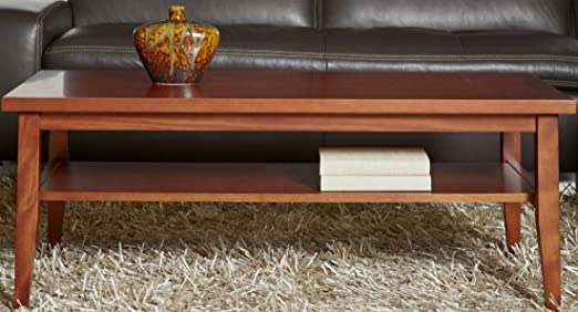 2000 Series Elegant Coffee Table in Cherry