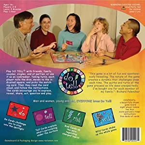 Do Tell the Relationship Board Game for Grown-Ups