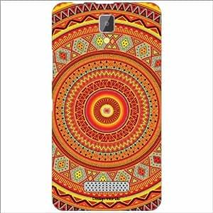 Design Worlds - Lenovo A2010 Designer Back Cover Case - Multicolor Phone Cover
