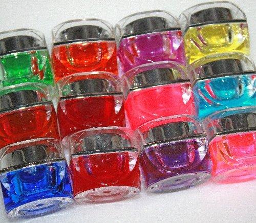 ソークオフ カラー ジェル 12色 セット UVジェル ハードジェル