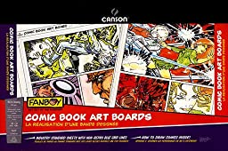 Canson Fanboy Comic book art boards 11 in. x 17 in. pad of 24